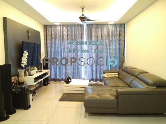 Condominium For Sale in Midfields, Sungai Besi Freehold Semi Furnished 3R/2B 548k