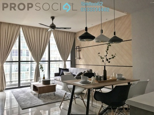 Condominium For Sale in The Fennel, Sentul Freehold Fully Furnished 3R/2B 860k