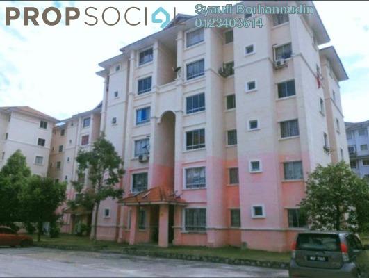 Apartment For Sale in Residensi Warnasari, Puncak Alam Freehold unfurnished 3R/2B 160k