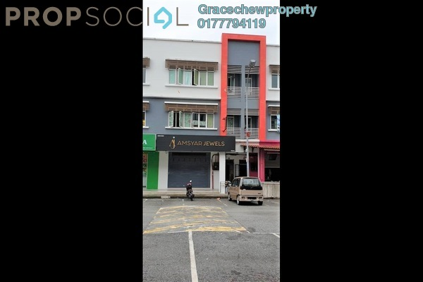 Shop For Sale in Taman Bukit Dahlia, Pasir Gudang Leasehold Unfurnished 0R/0B 920k