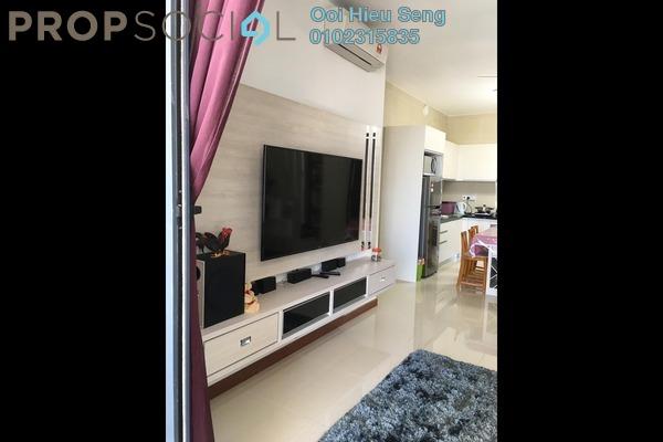 Condominium For Rent in Jesselton Residences, Kota Kinabalu Freehold Fully Furnished 2R/2B 3k