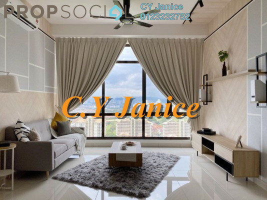 Serviced Residence For Rent in The Park Sky Residence @ Bukit Jalil City, Bukit Jalil Freehold Fully Furnished 3R/2B 3.6k