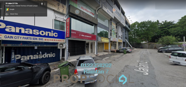 Shop For Rent in Taman Kuchai Jaya, Kuchai Lama Freehold unfurnished 0R/2B 3.8k
