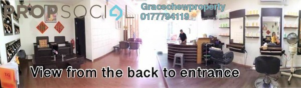 Shop For Sale in Taman Bukit Dahlia, Pasir Gudang Leasehold Fully Furnished 0R/0B 1.35m