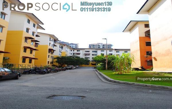 Apartment For Sale in Sri Meranti, Bandar Sri Damansara Freehold Unfurnished 3R/2B 100k
