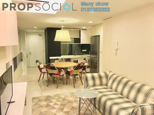 Condominium For Rent in VERVE Suites, Old Klang Road Freehold Fully Furnished 2R/2B 2.1k