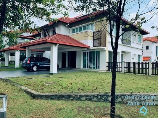 Shop For Sale in Precinct Arundina @ Setia Eco Park, Setia Alam Freehold unfurnished 5R/5B 2.5m