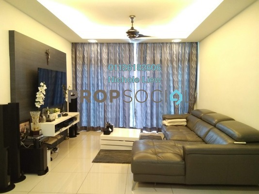 Condominium For Sale in Midfields, Sungai Besi Freehold Fully Furnished 3R/2B 548k