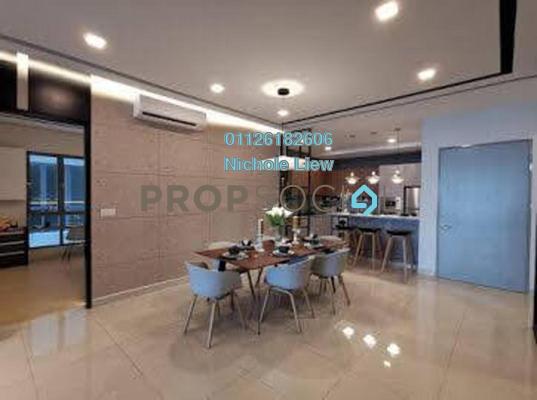 Condominium For Sale in Razak City Residences, Sungai Besi Leasehold Unfurnished 3R/3B 429k