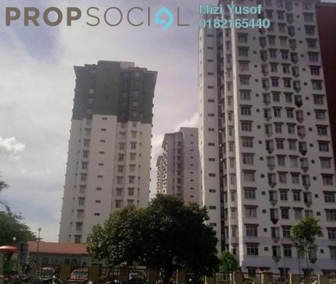 Apartment For Sale in Ilham Apartment, TTDI Jaya Freehold Semi Furnished 3R/2B 260k