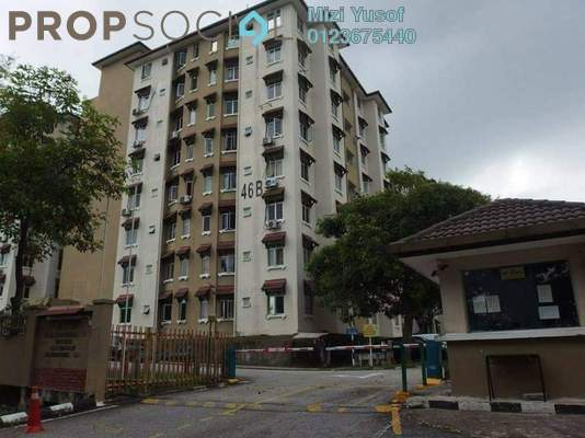 Apartment For Sale in Seri Ixora Apartment, Shah Alam Freehold Semi Furnished 3R/2B 320k