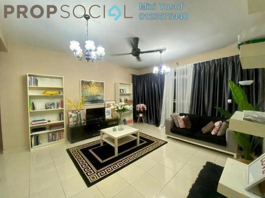 Condominium For Sale in Mutiara Anggerik, Shah Alam Freehold Semi Furnished 4R/2B 365k