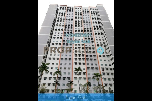 Apartment For Rent in Taman Bukit Erskine, Tanjung Tokong Freehold Unfurnished 3R/1B 750translationmissing:en.pricing.unit