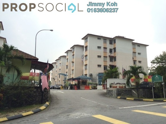 Apartment For Sale in Sri Melor Apartment, Ukay Freehold Unfurnished 3R/2B 210k
