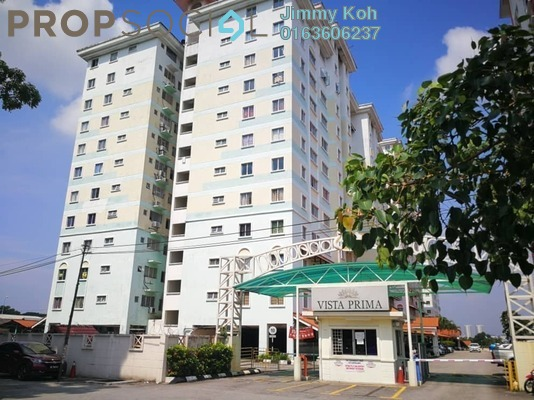 Condominium For Sale in Vista Prima, Puchong Freehold Unfurnished 3R/2B 230k