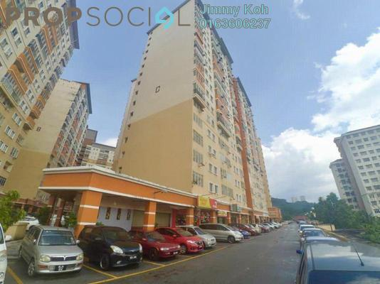 Condominium For Sale in Residensi Bistaria, Ukay Freehold Unfurnished 3R/2B 245k
