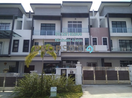 Superlink For Sale in Taman Bukit Serdang, Seri Kembangan Freehold Unfurnished 5R/4B 1.38m