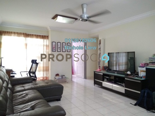 Apartment For Sale in Jati Selatan Apartment, Desa Petaling Freehold Fully Furnished 3R/2B 280k