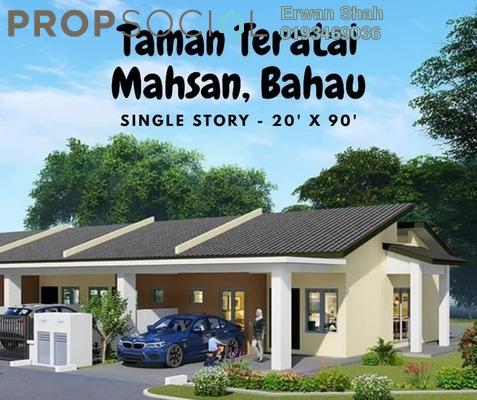 Terrace For Sale in Taman Desa Puteri, Bahau Freehold Unfurnished 3R/2B 250k