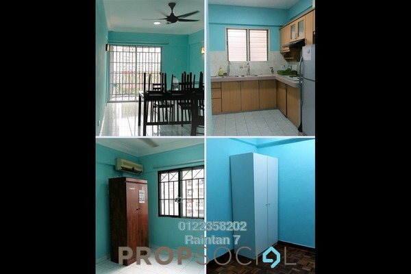 Apartment For Rent in Arena Green, Bukit Jalil Freehold semi_furnished 2R/1B 1.05k