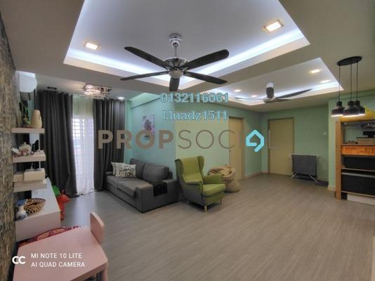 Apartment For Sale in Taman Suria Tropika, Bandar Putra Permai Freehold Semi Furnished 3R/2B 300k