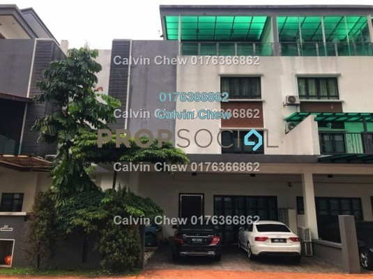 Townhouse For Sale in Duta Suria, Ampang Freehold Unfurnished 5R/0B 945k