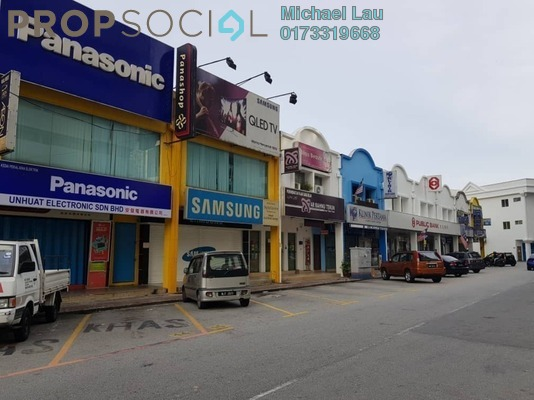 Shop For Sale in Section 1, Wangsa Maju Freehold Fully Furnished 0R/0B 580k