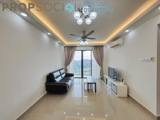 Condominium For Rent in Amerin Mall & Residence, Balakong Freehold Fully Furnished 2R/2B 1.4k