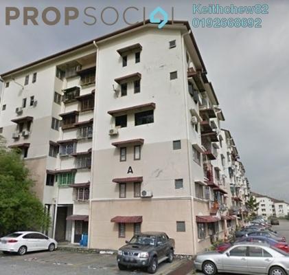 Apartment For Rent in Sri Cempaka Apartment, Bandar Puteri Puchong Freehold Unfurnished 3R/2B 900translationmissing:en.pricing.unit