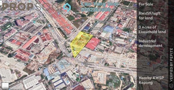 Land For Sale in Jalan Kepong, Kepong Leasehold Unfurnished 0R/0B 60m