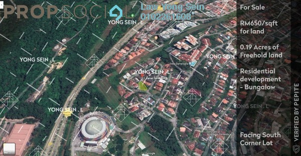 Land For Sale in Laman Setiakasih 8, Damansara Heights Freehold Unfurnished 0R/0B 5.5m