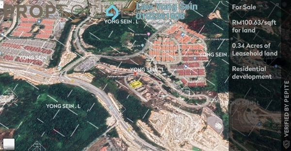 Land For Sale in Section U9, Shah Alam Freehold Unfurnished 0R/0B 1.51m
