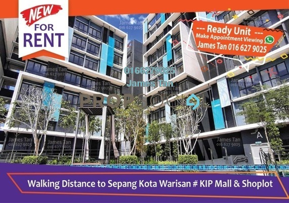 SoHo/Studio For Rent in Core SoHo Suites, Sepang Freehold Semi Furnished 1R/1B 1k