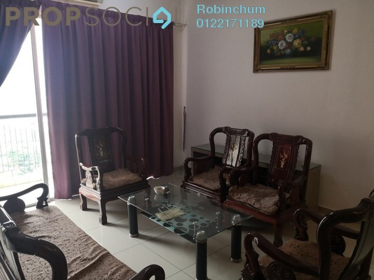 Condominium For Rent in Vistaria Residensi, Cheras Freehold Fully Furnished 4R/2B 2k