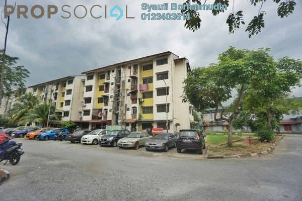 Apartment For Sale in Section 17, Shah Alam Freehold Unfurnished 2R/1B 110k