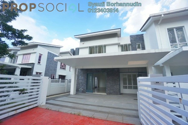 Superlink For Sale in D'Kayangan, Shah Alam Freehold Unfurnished 5R/6B 1.55m