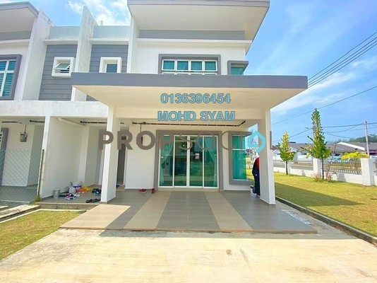 Terrace For Sale in Nuri Durian Tunggal, Melaka Freehold Unfurnished 4R/3B 343k