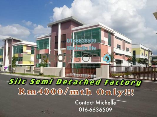 Factory For Rent in IBP @ SiLC Nusajaya, Iskandar Puteri (Nusajaya) Freehold Unfurnished 0R/2B 4k