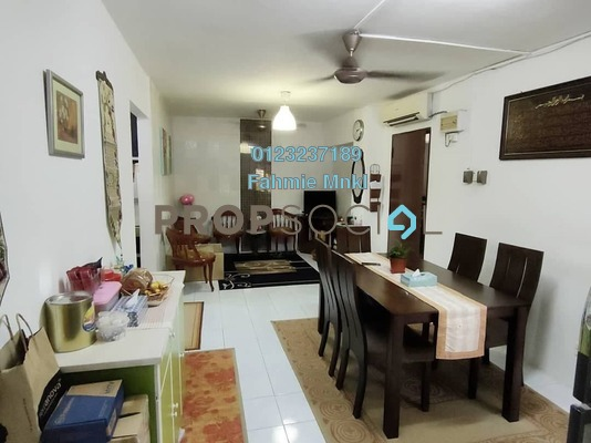 Apartment For Sale in Bayu Apartment, Damansara Damai Leasehold semi_furnished 3R/2B 270k