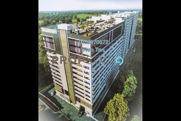 Apartment For Sale in Quinton, Balik Pulau Freehold Unfurnished 3R/2B 297k