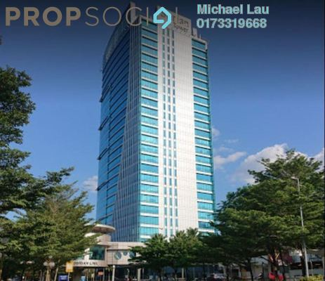 Office For Rent in Surian Tower, Mutiara Damansara Freehold Fully Furnished 0R/0B 27k