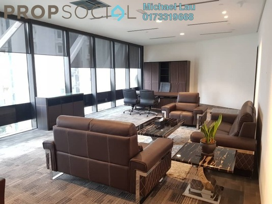 Office For Rent in Ilham Tower, KLCC Freehold Fully Furnished 0R/0B 25.7k