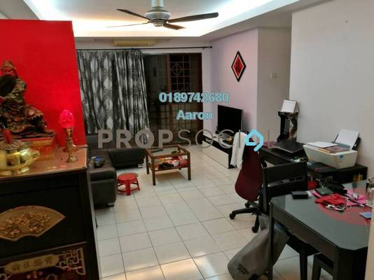 Condominium For Sale in Palm Spring, Kota Damansara Freehold Semi Furnished 3R/2B 420k
