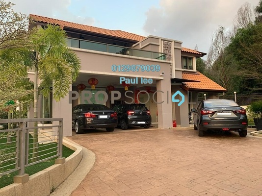 Bungalow For Sale in BK9, Bandar Kinrara Freehold Semi Furnished 7R/8B 6.3m