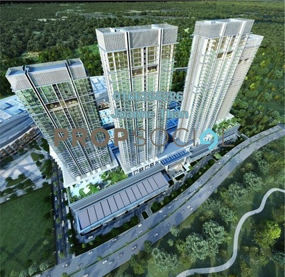 Condominium For Rent in The Park Sky Residence @ Bukit Jalil City, Bukit Jalil Freehold Fully Furnished 3R/3B 5k