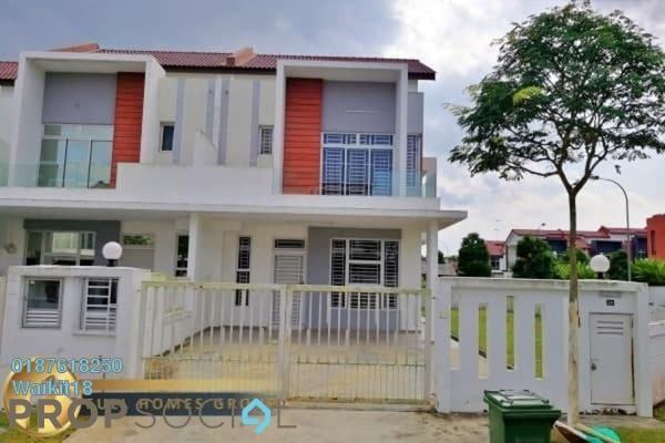 Terrace For Rent in Luciana, Setia Eco Gardens Freehold Semi Furnished 4R/3B 1.5k