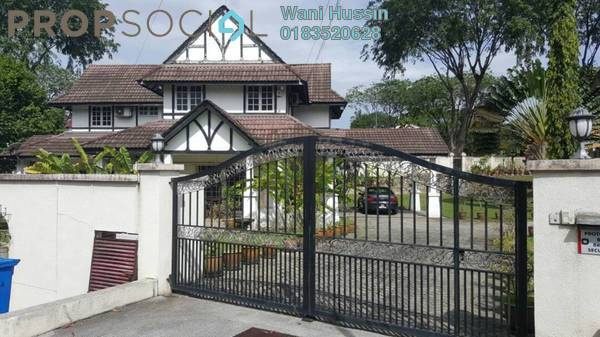 Bungalow For Sale in Section 12, Shah Alam Freehold Semi Furnished 5R/5B 4.5m