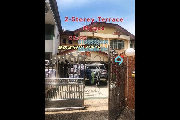 Terrace For Sale in Bandar Seri Alam, Masai Freehold Semi Furnished 4R/3B 450k
