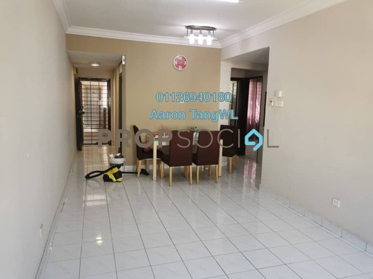Apartment For Rent in SD Apartment II, Bandar Sri Damansara Freehold Semi Furnished 3R/2B 1k