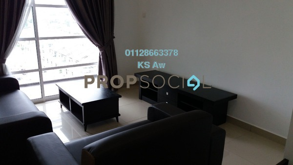 Condominium For Sale in Horizon Residence, Bukit Indah Freehold unfurnished 3R/2B 550k
